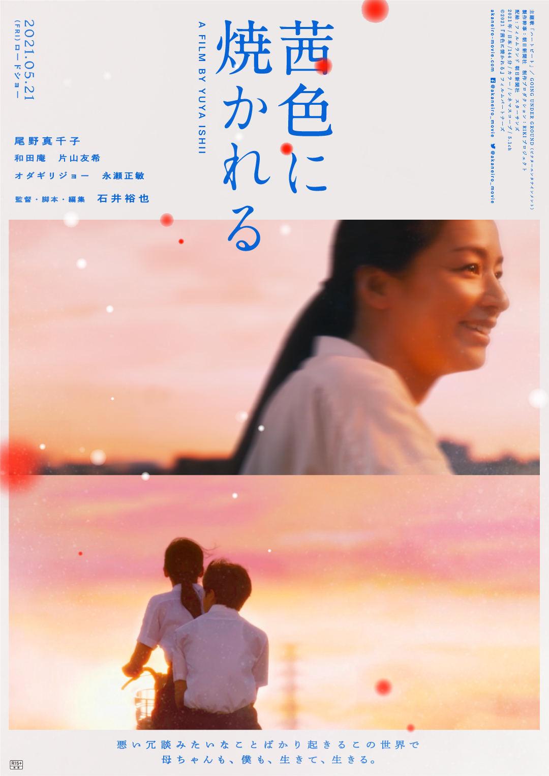 映画『茜色に焼かれる』ポスター